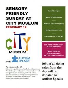 Sensory Friendly Sunday at City Museum